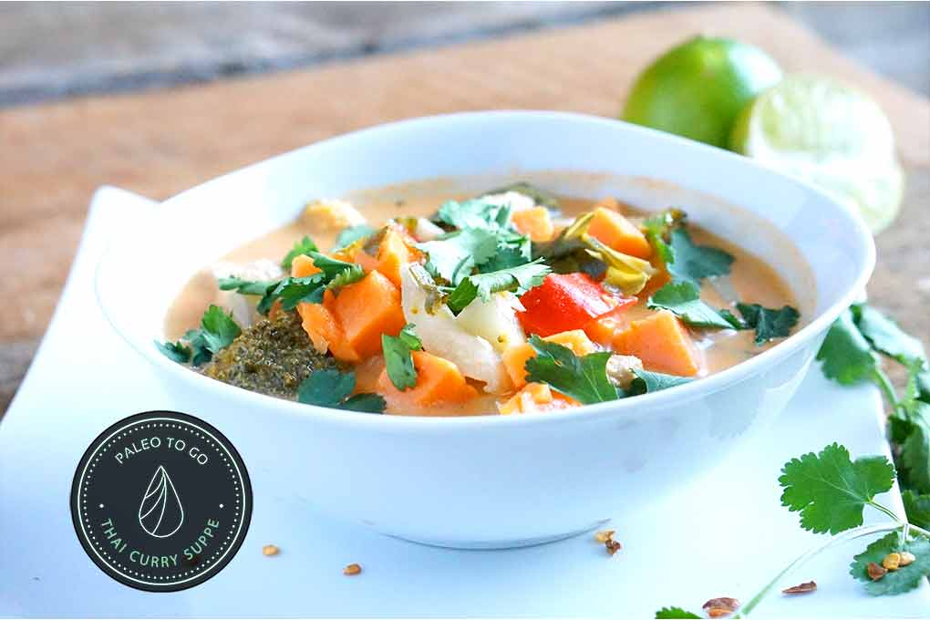 Thai Curry Suppe | PaleoToGo.de
