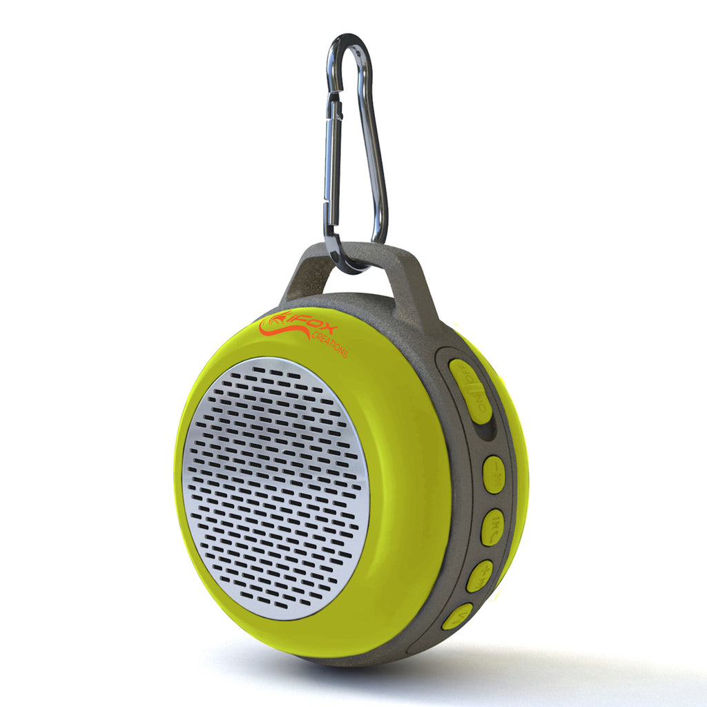 iFS303 Ultra Portable Bluetooth Speaker - Indoor & Outdoor - Yellow