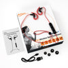 iFE3 Bluetooth Sports Earphones with Mic – Sweatproof Wireless Comfort Fit with Volume Control