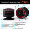 iF014 Waterproof Bluetooth Speaker & Shower Radio - Black