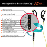iFE2 Bluetooth Sports Earphones with Mic