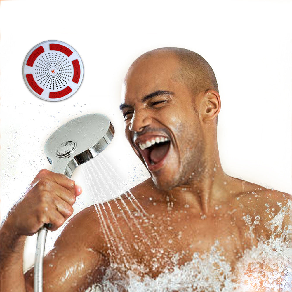 iF013 Bluetooth Shower Speaker - White