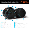 iF019 Mini Bluetooth Speaker with FM Radio - Black