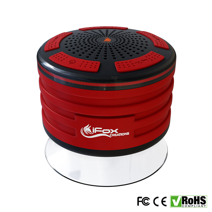 iF013 Bluetooth Shower Speaker - Certified Waterproof