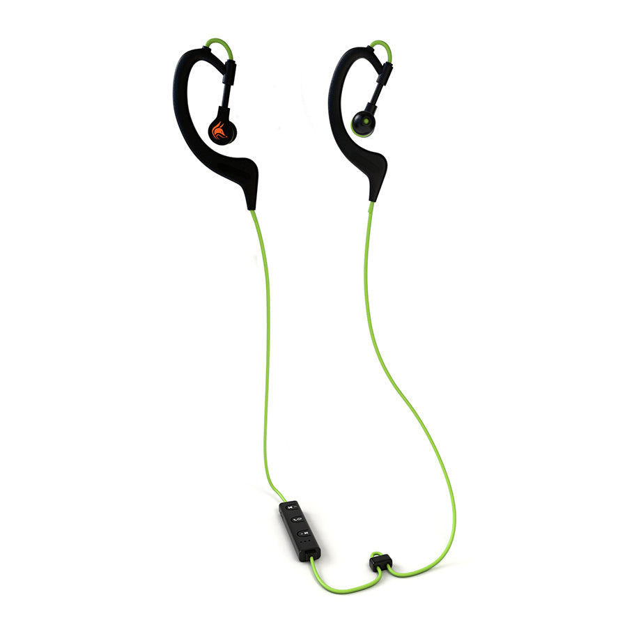 iFE2 Bluetooth Sports Earphones with Mic – Sweatproof Wireless Comfort Fit with Volume Control