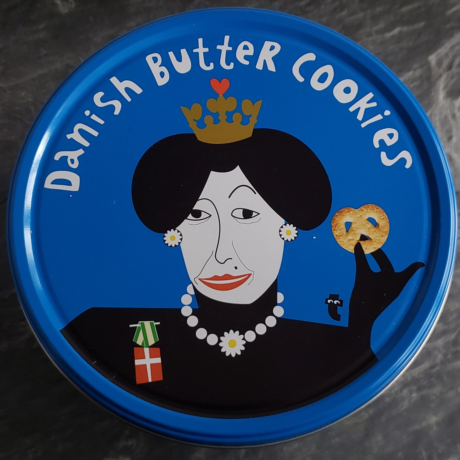 Queen of Denmark Collection - Repurposed Tin Jewelry