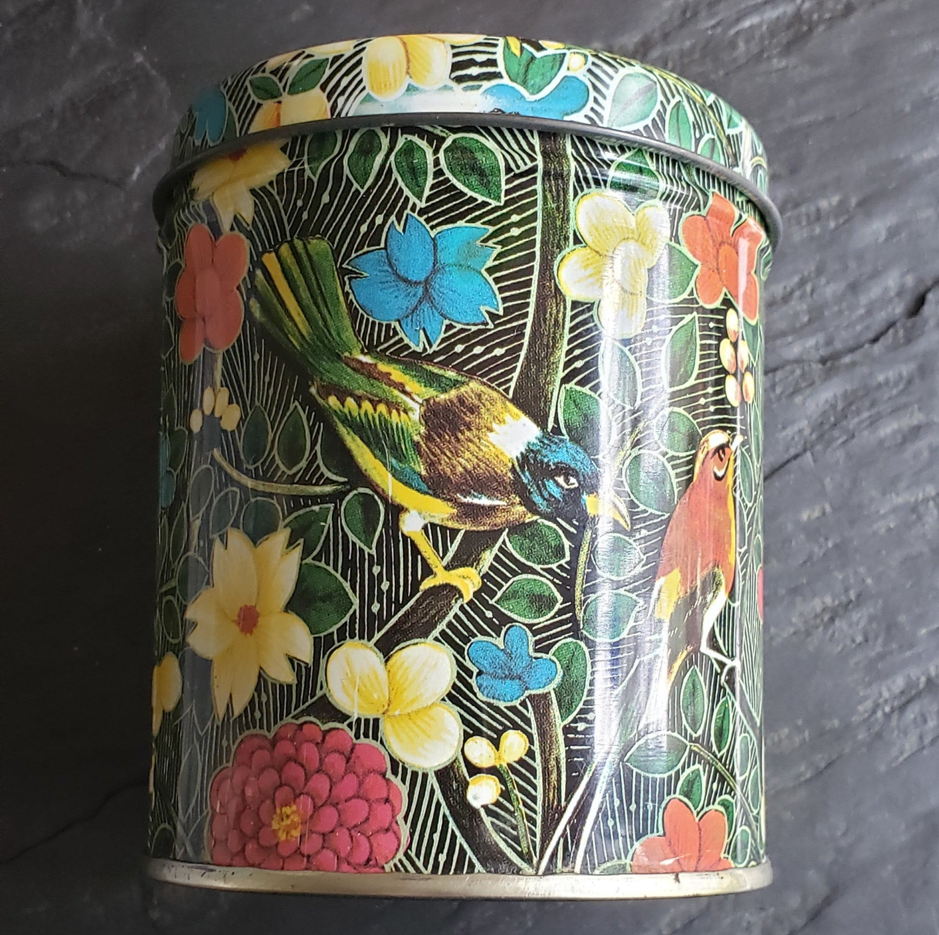 Bird Watching Collection - Repurposed Vintage Tin Jewelry