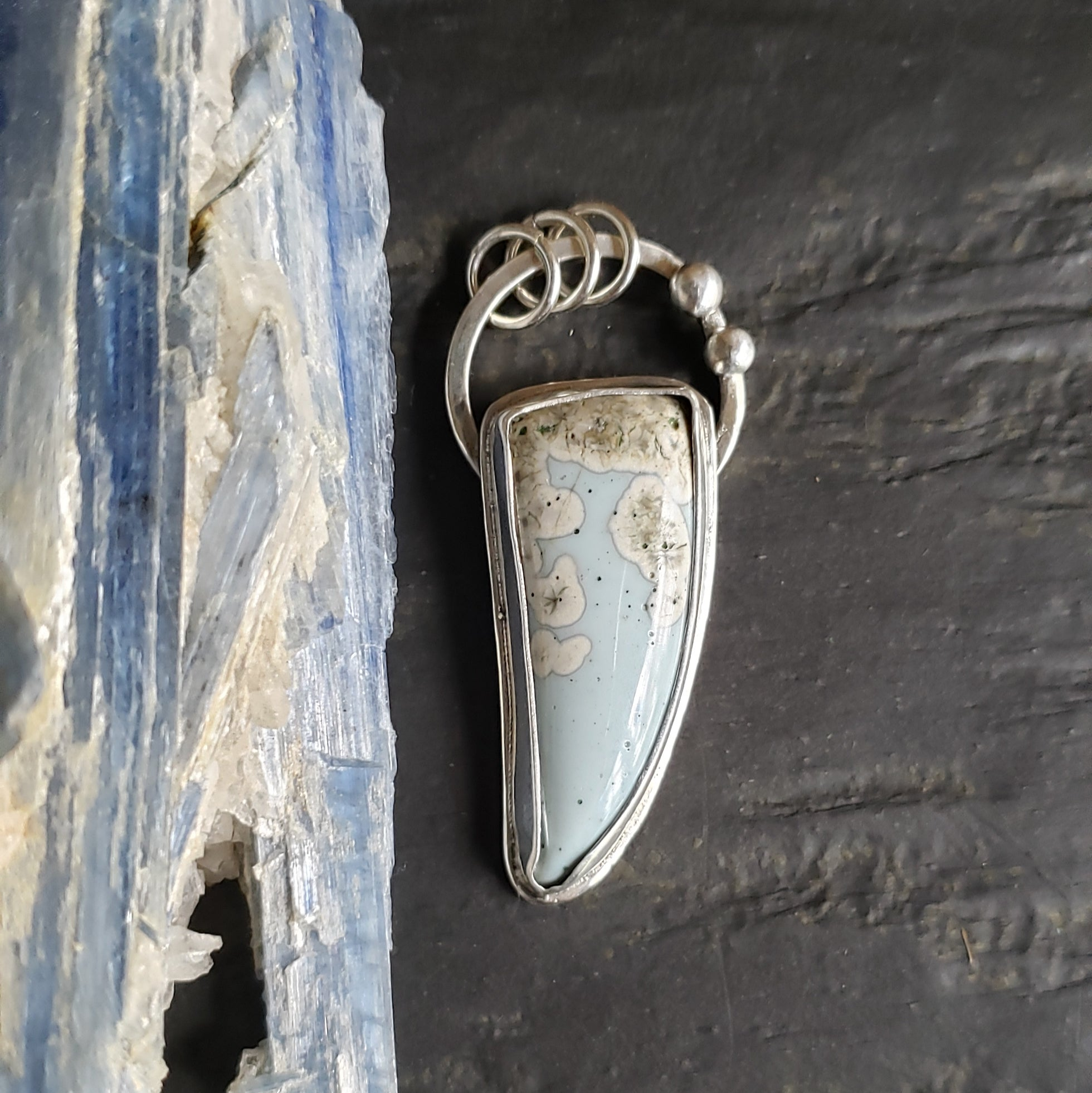 Leland Blue Talon Pendant in Sterling Silver