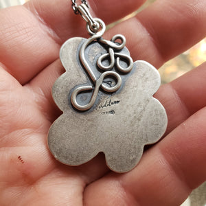 Toil & Trouble Pendant in Sterling Silver