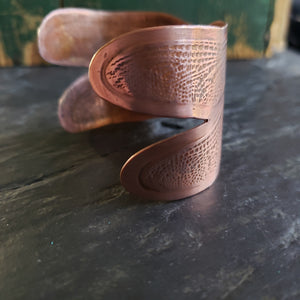Dragonfly Wing Cuff in Copper