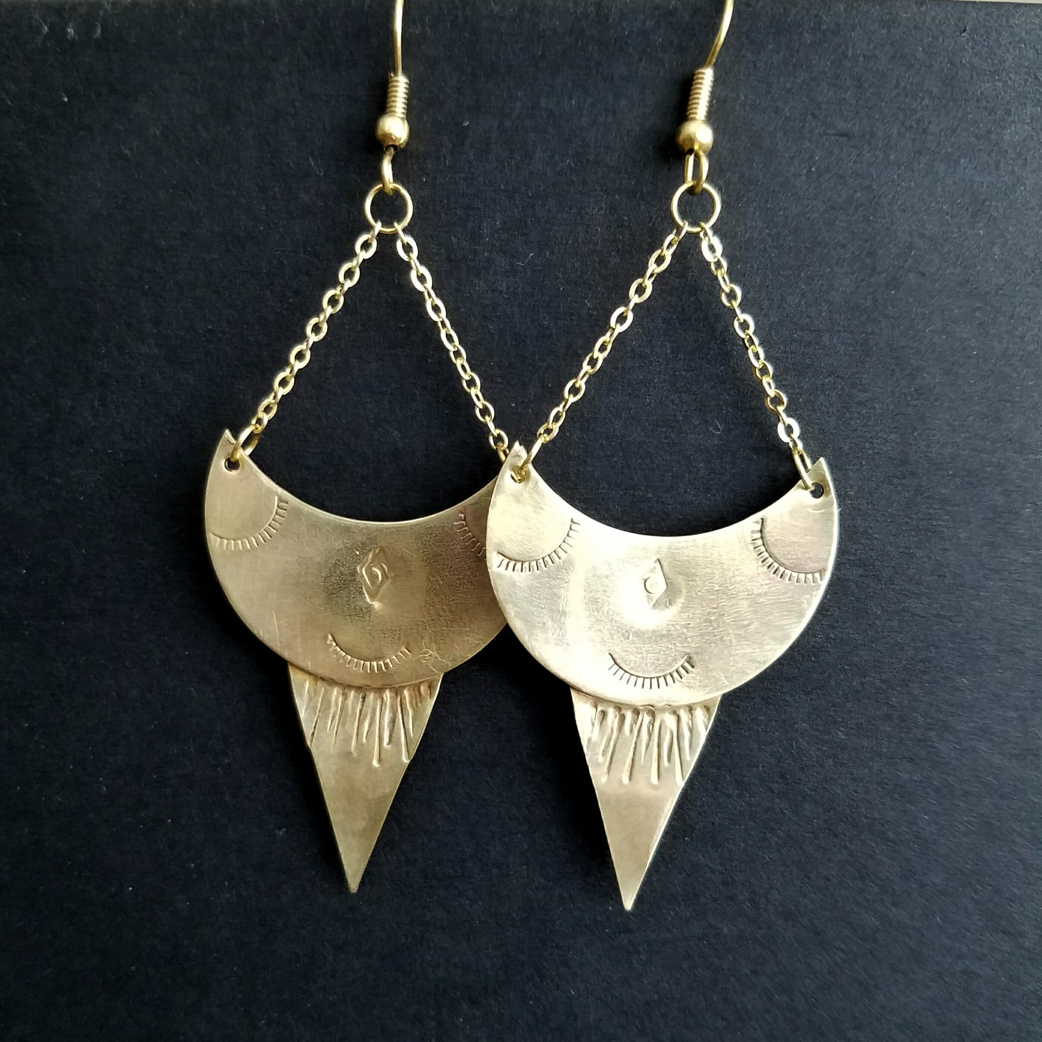 Celestial Alchemy Earrings - Verdilune