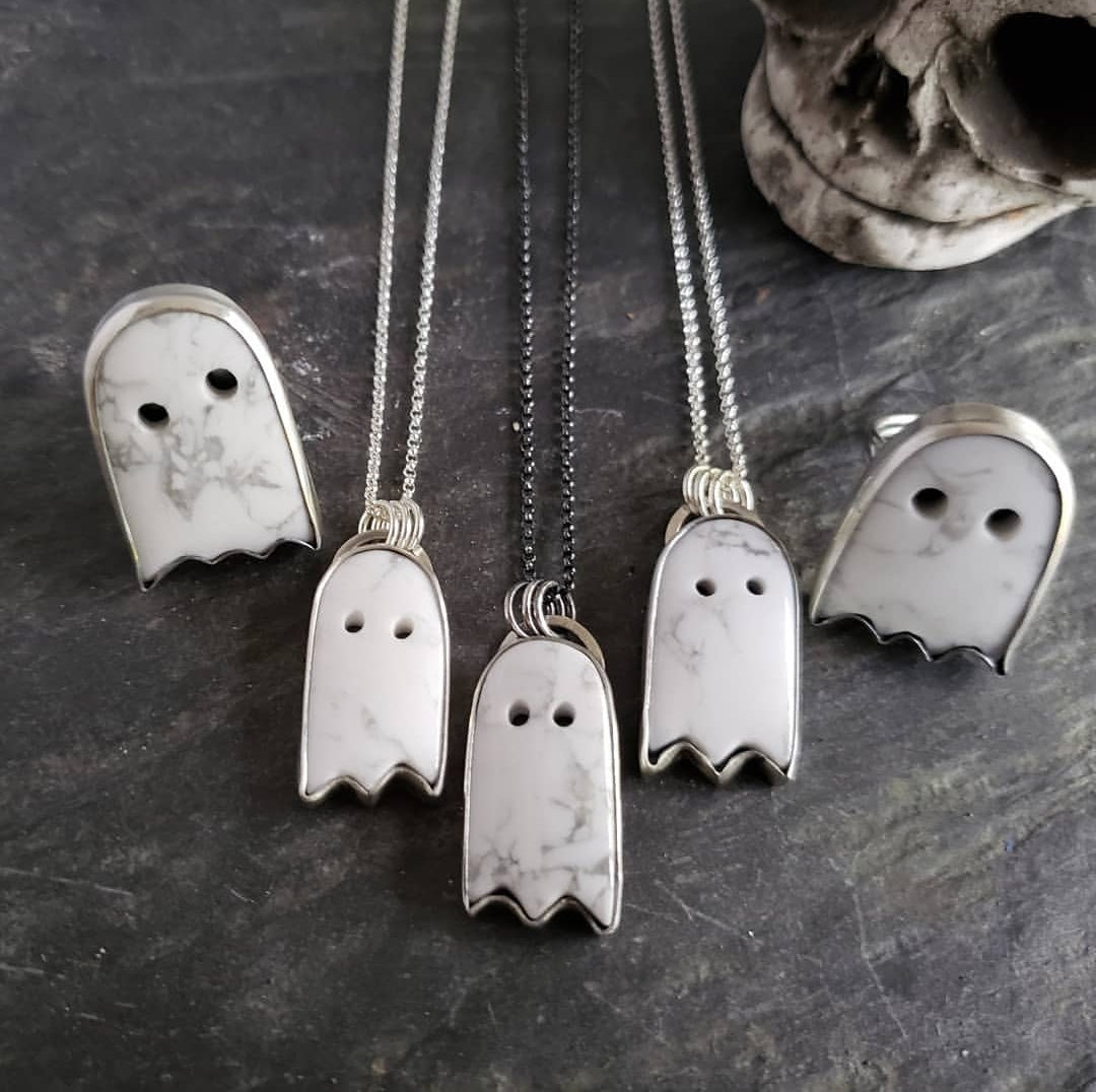 Ghosties & Ghoulies - Custom Pendants or Rings