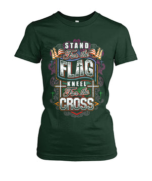 Stand for the flag, Kneel for the Cross