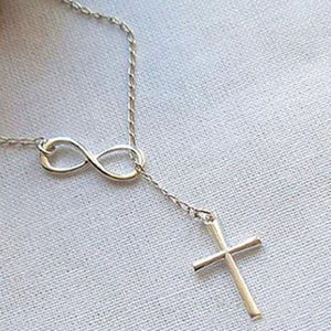 Buy 1 get 2 free Jesus is Infinite Necklace!