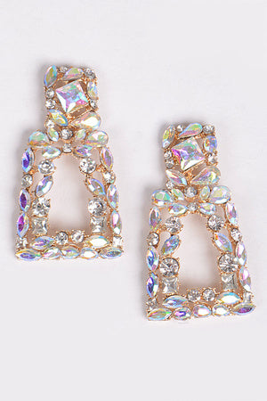 Pyramid Stacked Earring