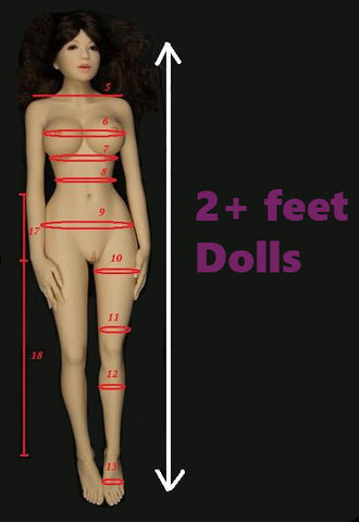 2+ feet height dolls