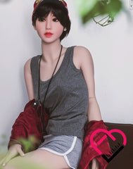 Crafty Fantasy TPE Material Lean Body and Small Tits Love Doll with (166cm) 5'5 ft