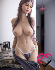 Crafty Fantasy TPE Material Lean Body and Small Tits Love Doll with (165cm) 5'5 ft