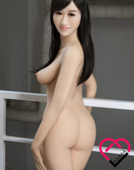 Crafty Fantasy TPE Material Jade Asian Perky Sex Doll with (163cm) 5'4 ft