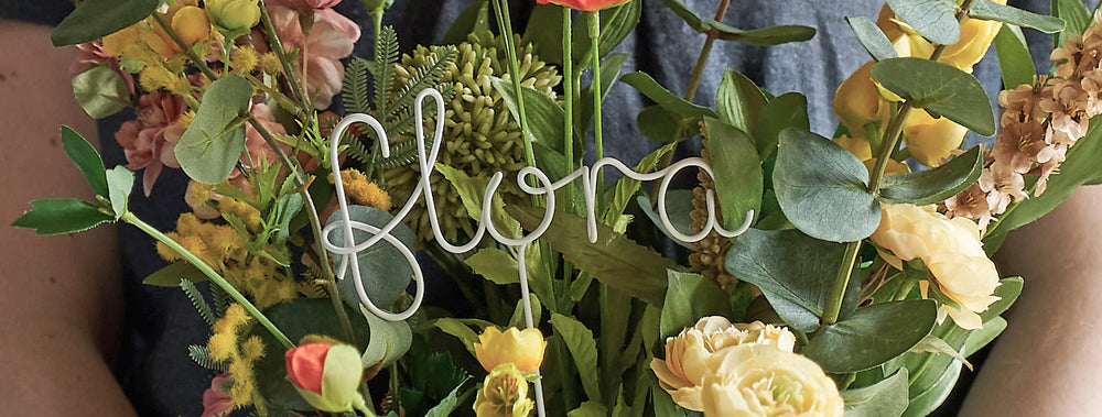 Floral Name Signs