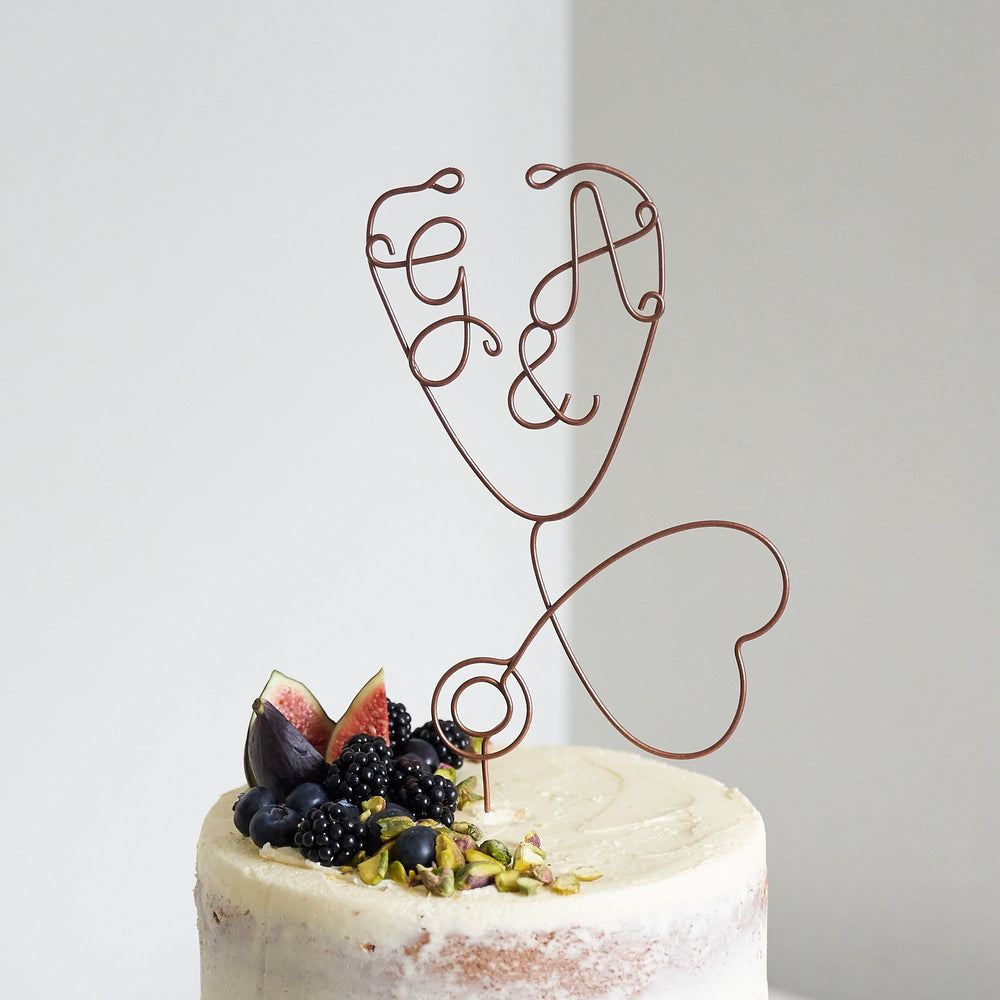 Stethoscope Wire Cake Topper
