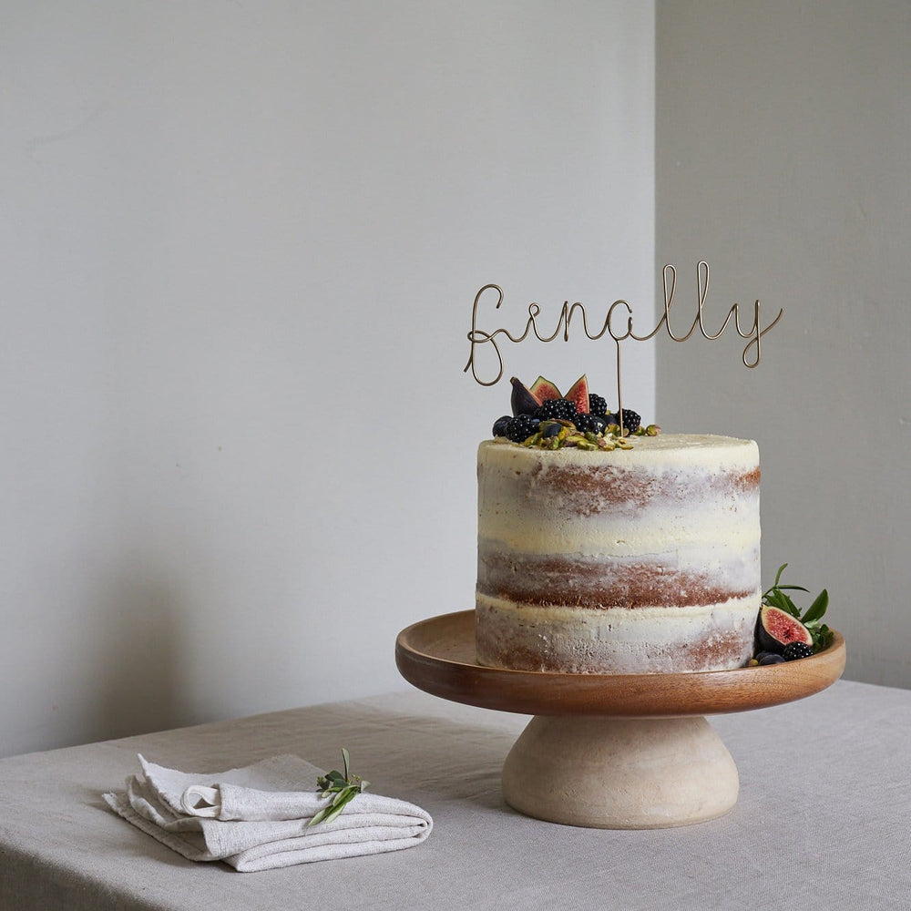 Finally Wire Wedding Cake Topper