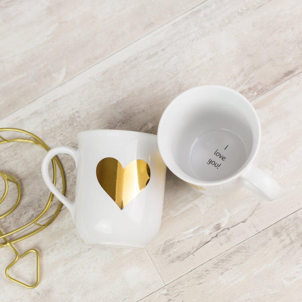 I Love You Hidden Secret Message Mug
