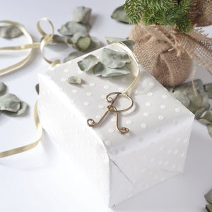 Wire Letter Gift Tags