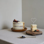 Mini Heart Wire Cake Topper