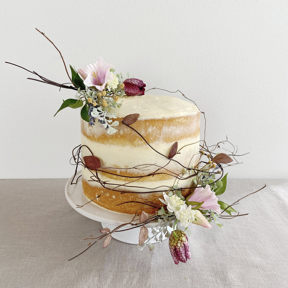 Faux Wildflower Cake Decorations