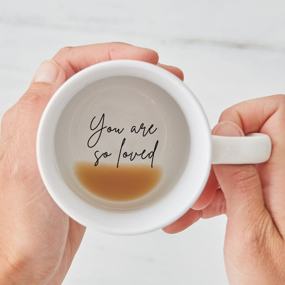 You are so Loved Hidden Secret Message Mug