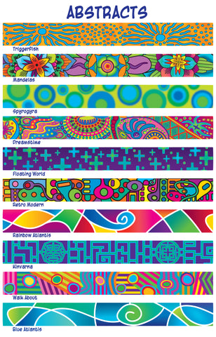 Abstract Dog Collar Designs