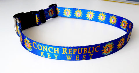 conch-republic-dog-collar-key-west