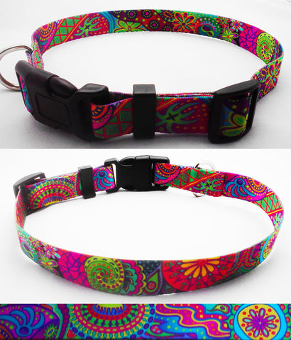 Dreamstime dog collar artwork based on Australian aboriginal art