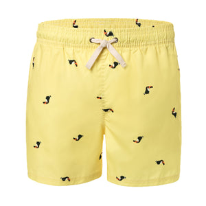 Toucan Animal Men's Swim Trunks