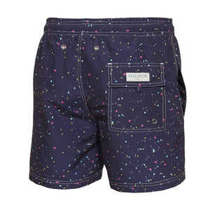 Constellation Dark Men's Swim Trunks