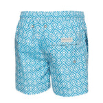 Bruce Wayne Style Blue Men's Swim Trunks