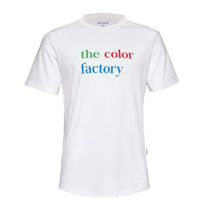 Color Factory White Organic Cotton Tee