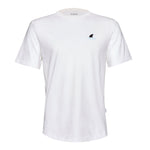 Shark Fin White Organic Cotton Tee