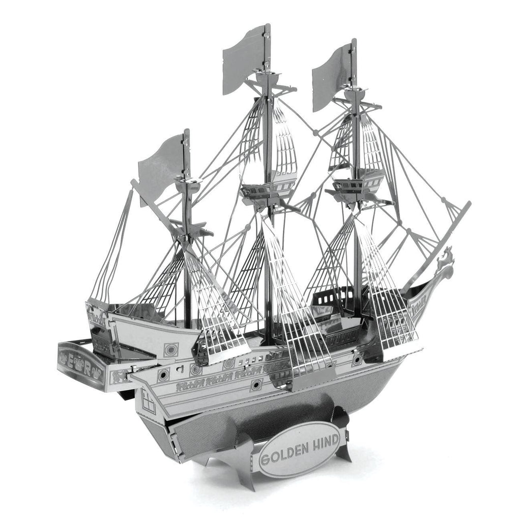 Metal Earth Golden Hind-Metal Earth-At Play Toys