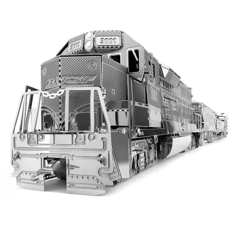 Metal Earth Freight Train Set-Metal Earth-At Play Toys