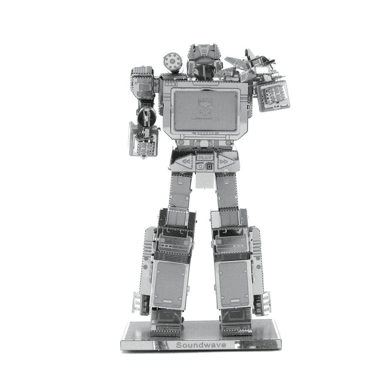 Metal Earth Transformers Soundwave-Metal Earth-At Play Toys