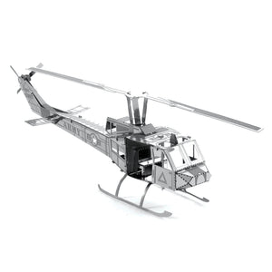 Metal Earth Huey UH-1 Helicopter-Metal Earth-At Play Toys