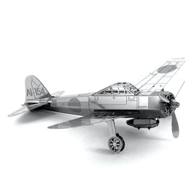 Metal Earth Mitsubishi Zero-Metal Earth-At Play Toys