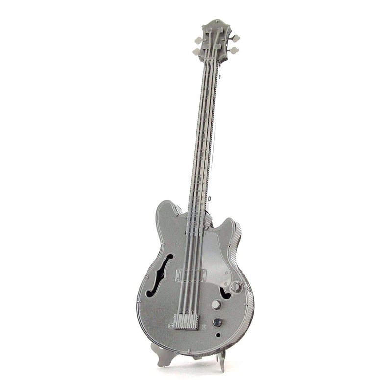 Metal Earth Electric Bass Guitar-Metal Earth-At Play Toys