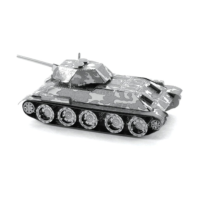 Metal Earth Soviet T-34 Tank-Metal Earth-At Play Toys