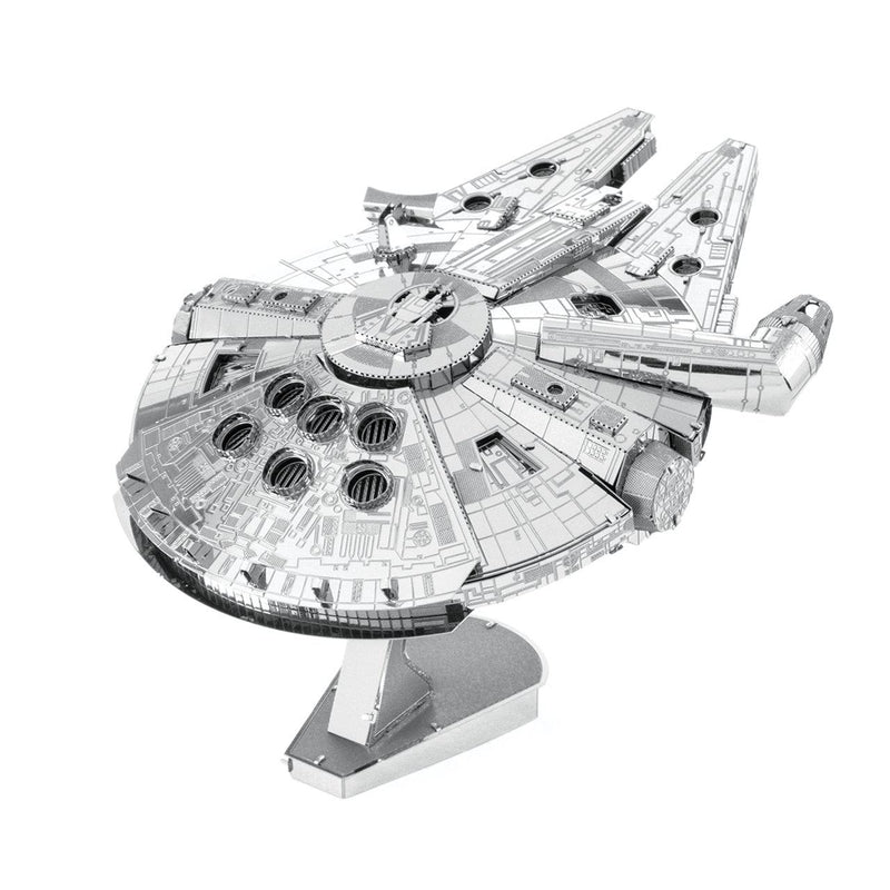 Metal Earth Premium Series Star Wars Millennium Falcon-Metal Earth-At Play Toys
