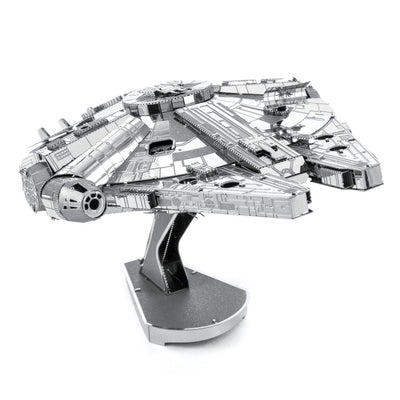 Metal Earth ICONX Star Wars Millennium Falcon-Metal Earth-At Play Toys