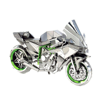 Metal Earth ICONX Kawasaki Ninja H2R-Metal Earth-At Play Toys