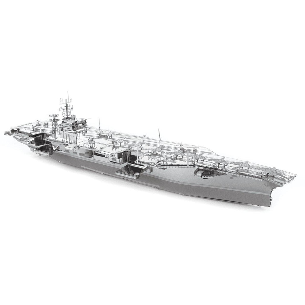 Metal Earth ICONX USS Theodore Roosevelt CVN-71 Aircraft Carrier-Metal Earth-At Play Toys